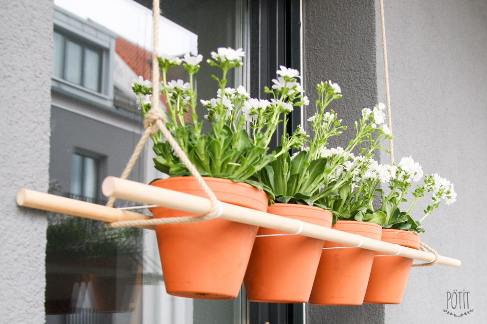 Pötit Hanging Planter DIY